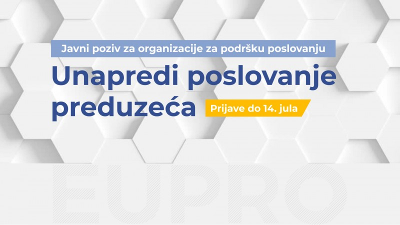 EU PRO Public Call for Project Proposals for Enhancing Competitiveness of the Serbian Enterprises