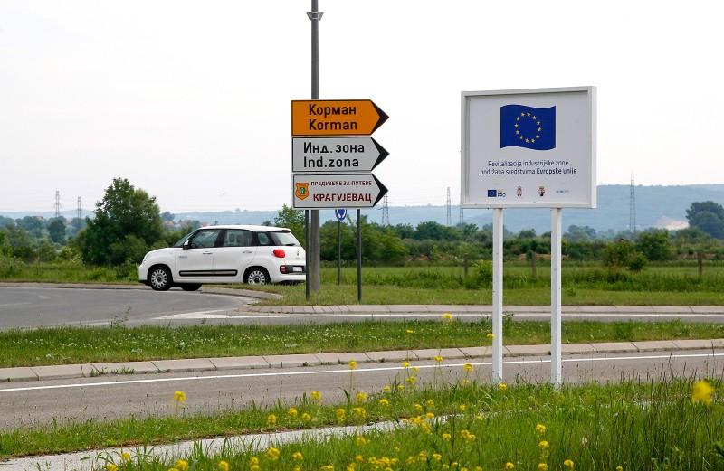 Kragujevac, Revitalisation of Industrial Zone