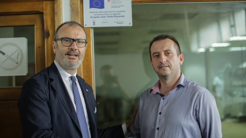 Fabrici: Evropska unija pruža podršku razvoju preduzetništva